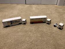Ralstoy 12 & 16 Vintage Diecast Moving Trucks, 5 piece set.