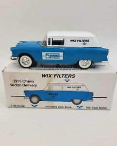 WIX Filters Auto Value Parts Stores 1955 Chevy Sedan Delivery Die Cast Car Wagon