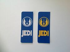 Star Wars Gift JEDI  Number Plate Self-adhesive vinyl sticker Euro GB