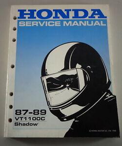 Taller Manual/Manual de Taller Honda VT 1100C Sombra Desde 1988