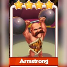 Coin Master Card *** Armstrong ***  Fast Delivery