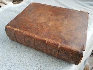 1753- DICTIONNAIRE DES SCIENCES EN 3 LANGUES - FRANCAIS- ANGLAIS- LATIN - QUARTO