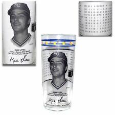 Vintage 1976 Mark Littell MLB Kansas City Royals Glass Tumbler