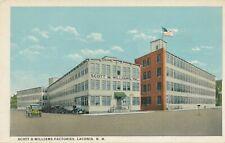 LACONIA NH – Scott & Williams Factories