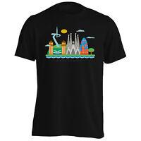 New I Love Spain Barcelona Art Men's T-Shirt/Tank Top m487m