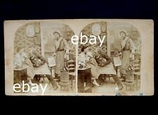 stereoview 1850-1860naked Harassment,abuse assault stereo nude woman photo stove