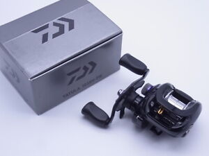 2014 Daiwa Tatula 103XH-TW 8.1:1 Gear Right Handle Baitcasting Reel VG+ W/Box