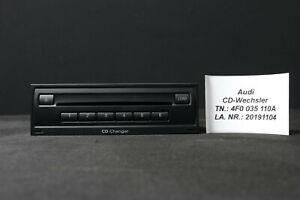 Audi A6 S6 4F A8 Q7 4L MP3 6-fach CD Wechsler Changer CDC 4F0035110A 4F0035110