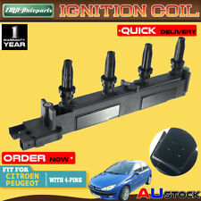 Ignition Coil for Citroen C4 C5 Xsara Peugeot 206 307 406 407 1.8 2.0L 1999-2006