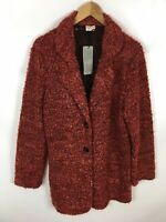 TAIFUN Strickjacke Damen, Neu mit Etikett, Größe 44, rot, strick, sehr schick