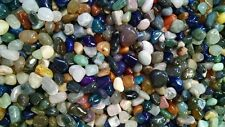 1/4 lb Small Natural Tumbled Gemstone Mix 25-50 Pieces Assorted Bulk Gems Rocks