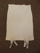 Vtg 50s 60s NEW Mini Length Girdle Garters Belt For Waists 32-40 Shaper Smoother
