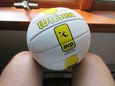 WILSON AVP OUTDOOR BEACH  Volleyball ( WHITE & YELLOW )  new - reduced price