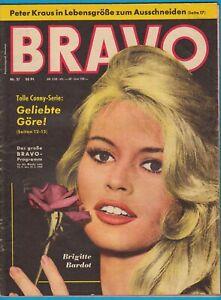 BRAVO von 1959 Nr. 37 - Brigitte Bardot