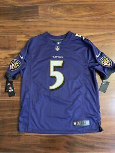 Nike Baltimore Ravens Joe Flacco Vapor Limited Jersey Men's Size XL