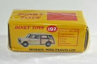 Atlas Editions (Mattel Norev) Dinky No.197 Morris Mini Traveller. New Sealed