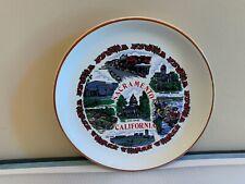 Vintage Early 1980's Sacramento California State Souvenir Collector Plate