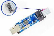 Usbasp Usbisp V2 Usb Asp Programmer Blue For Kk2 Simonk Arduino Avr Atmel Pic