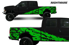 Vinyl Decal Nightmare Wrap Kit for Ford F-250/F-350 Truck 1999-2006 Grass Green