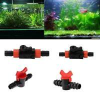 4 Modelle Aquarium Drosselklappe Wasserdurchflussregler Aquarium E8Q8 Zubeh Y1H3