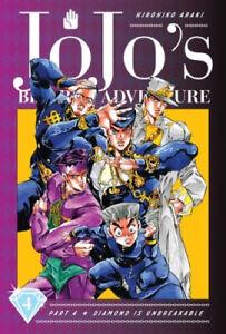 JoJo's Bizarre Adventure: Part 4--Diamond Is Unbreakable, Vol. 4 (JoJo's