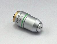 4x 10x 20x 40x 60x 100x PLAN Objective Lens ACH 160/0.17 f Biological microscope