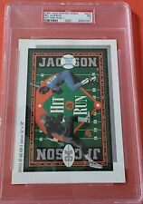 1991 Nike Poster Cards No Jackson Hit And Run Psa 7 Pop 1 One Higher