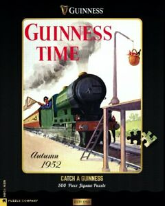 Guinness Adverts Catch A guinness 500 Piece Puzzle 457mm x 610mm (nyp)