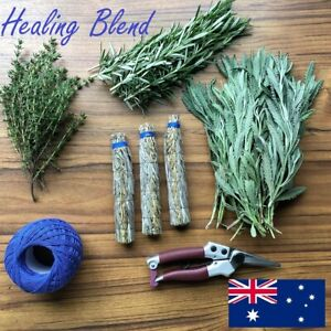 Australia's Best Smudge Stick - Healing Blend - Lavender, Rosemary & Thyme