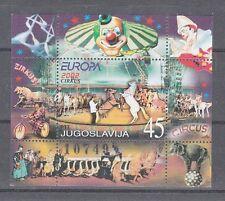 Europa CEPT  2002  Jugoslawien  Block 53    **  (mnh)