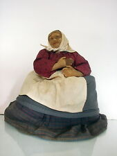 early Russian Tea Cozy Doll marked  Reaper woman made in Soviet Union 1930