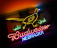 Bud Nebraska Neon Sign Beer Bar Pub Light Display Cafe Club Bontique Shop Wall