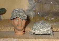 1/6 scale Badit Joes Exclusive US Air Force USAF ABU Helmet and Hat loose