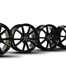 4x Audi 19 inch velgen A3 S3 8V alloy velgen 8V0601025AT zwart hoogglans