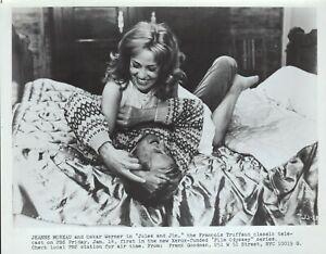 Jules and Jim (R1960s) 8x10 black & white movie photo #18