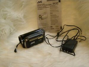 JVC Everio GZ-HM200BU Full HD Camcorder for parts or repair