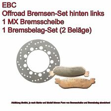 EBC Brakes Set Rear Left MD6035D +FA208TT Husaberg KTM off Road
