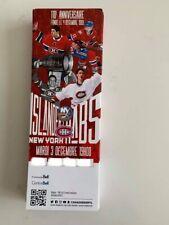 unused season hockey tickets Canadiens 110e anniversaire dec 3