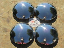 1940'S-70'S HOT ROD, RAT ROD, SMOOTHIE, RALLY WHEEL BABY MOON HUBCAPS, SET OF 4