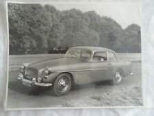 Bristol 406 Saloon official pree photo brochure c1960 captioned on rear