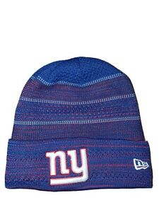 Brand NY Giants New  Cuffed Winter Hat Knit Beanie Ski Cap NFL Blue/Red Youth