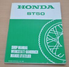 Honda ST50 Motorrad Zylinder Motor Bremsen Shop Manual 1982 Werkstatthandbuch