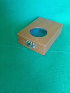 Ships chronometer, Royal Navy HS 3 deck watch mounting box