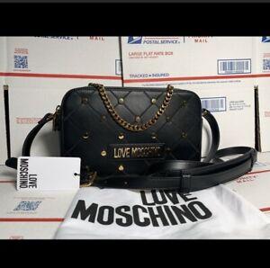 Love Moschino Crossbody Handbag Purse Designer Bag
