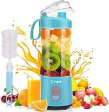 Portable Blender. Mini Smoothie Milkshake Maker, Rechargeable Juicer Cup, Bottle