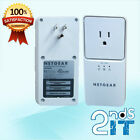 2 x Netgear XAV2501 Powerline AV+ 200 Network Adapter FREE SAME DAY SHIPPING