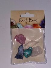 BRAND NEW BRITISH FOSSILS NATURES GIFT MINERAL ROCK BAG