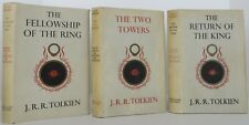 JRR TOLKIEN The Fellowship of the Rings, The Two Towers & The Return of the King