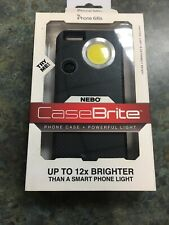 6347 Nebo CaseBrite Cell Phone Case for iPhone 6 and 6s - Black Free Shipping