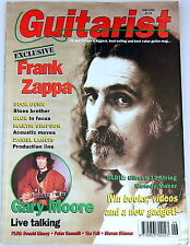 Vintage GUITARIST MAGAZINE June 1993 Frank Zappa Gary Moore Gibson 12 String